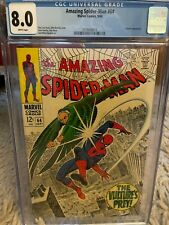 Amazing Spider-Man 64 CGC 8.0 WHITE
