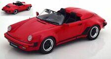 KK-Scale 1:18 180451 1989 Porsche 911 Speedster, rot - NEU!