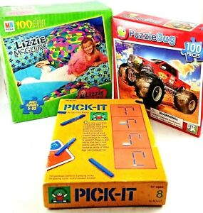 2 x Puzzle & Game combination Pack Suit ages 4+ years fun for all