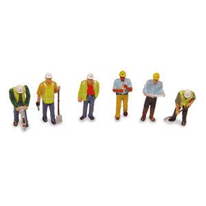 BACHMANN SCENECRAFT 36-052 CIVIL ENGINEERS ROAD WORKERS OO GAUGE 1:76 SCALE