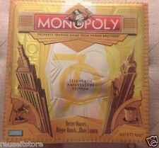 MONOPOLY 70th Anniversary Edition Art Deco 2005 Foil Wrapped Gameboard Tin Box