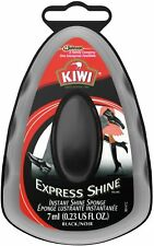 Kiwi Express Shine Sponge Shoe Polish, Black 0.23 oz (Pack of 2)