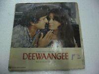 DEEWAANGEE S.D BURMAN 1976  RARE LP RECORD orig BOLLYWOOD VINYL india VG+