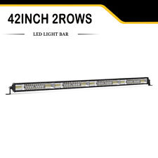 42inch 2176W Led Work Light Bar 2Rows Spot Flood For Jeep Truck Boat SUV Ford 40