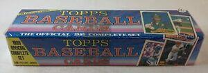 1989 Topps baseball FULL COMPLETE SEALED FACTORY SET #1-792