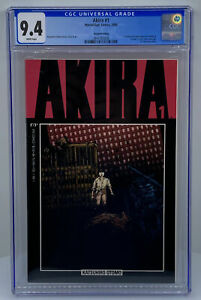 Akira #1 CGC 9.4 (Marvel/Epic Comics 1988) WP Katsuhiro Otomo ~ 2nd Printing