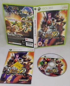 Super Street Fighter IV 4 (Microsoft Xbox 360, 2009) FAST Free Postage
