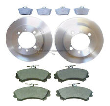 VOLVO S40 & V40 1998-2003 REAR 2 BRAKE DISCS & PADS & FRONT BRAKE PADS SET NEW