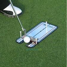 Golf Putting Mirror Alignment Training Aid Swing Trainer Eye Line Practice Tool