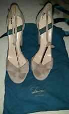LUCCHESI  TAN HIGH HEELS USED SIZE 40