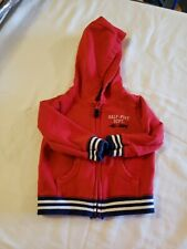 Boys Carters 12 Months Zip Up Hoodie