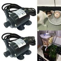 Ultra Quiet Mini DC 12V Lift 5M Brushless Motor Submersible Water New Pump D3H9