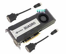 DELL Nvidia Quadro K6000 12GB GDDR5 PCIe 3.0 x16 Video Graphics Card 06P16P