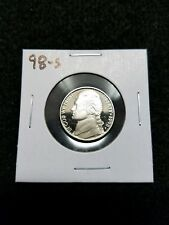 1998-S,,,,, US PROOF JEFFERSON NICKEL,,, FROM US PROOF SET