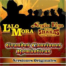 Lalo Mora,Sergio Vega y sus Shakas Versiones Originales CD New Sealed Nuevo