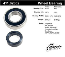 Centric Parts 411.62002 Rear Axle Bearing
