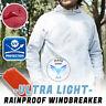 Men's Women Casual Jackets Windproof Ultra-Light Rainproof Windbreaker Tops