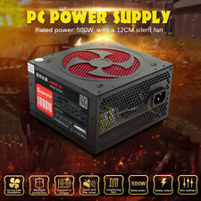 1000W Silent PC Power Supply Gaming PCI SATA ATX 12V 2.31 LED Fan Computer