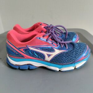 Mizuno Wave Inspire 13 Women's Size 7.5 Running Shoes Blue Sneakers FLV 0916