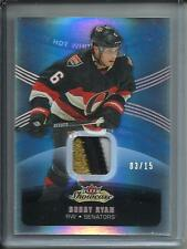 Bobby Ryan 15/16 Fleer Showcase Game Used Jersey Patch #3/15