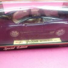 Maisto 1:18 JAGUAR XJ220 DARK NAVY BLUE 1992  DIECAST CAR NEW IN BOX (C3)