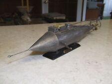 Css Pioneer Confederate Submarine Metal Model