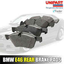 BMW 3 Series E46 Rear Brake Pads Premium Quality 1999 - 2007