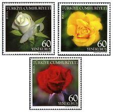 TURKEY 2007, FLOWERS, ROSES, BLUMEN, MNH