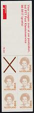 Netherlands 774Ab Booklet Pb43D Mnh Queen Beatrix