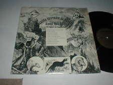 Paul Roseland ALASKA History Folk Songs LP SHRINK 1960 Private Rural SSW Country