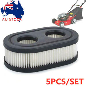5X Lawn Mower Air Filter Cleaner For Briggs & Stratton 798452 593260 5432 5432K