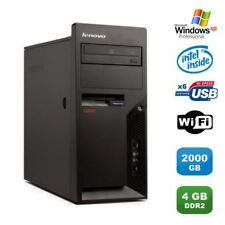 PC IBM Lenovo Thinkcentre M55E 9389-CTO Pentium D 3.00Ghz 4Go 2000Go WIFI XP Pro