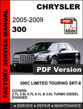 factory service repair manual ebay stores rh ebay com 2007 chrysler 300c service manual 2007 chrysler 300c service manual