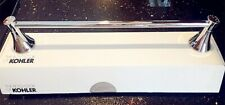 4 lots of KOHLER K-13430-CP Coralais 18-Inch Bathroom Towel Bar, Polished Chrome