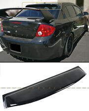 FOR 2005-2010 CHEVY COBALT 4DR SEDAN GLOSSY BLACK REAR WINDOW ROOF VISOR SPOILER