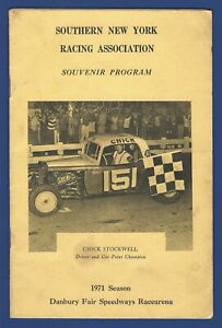 1971 Season Souvenir Program - DANBURY FAIR SPEEDWAYS RACEARENA