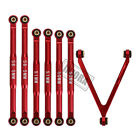 CNC Aluminum Chassis Links for 1/24 RC Axial SCX24 AXI00001 AXI00002 LWB 133.7mm