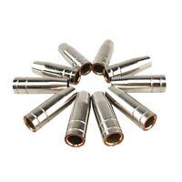 15Ak Gas Nozzle 10Pcs Mig Welding Torch Gas Nozzle Contact Tip For Mig Mag  Z4U3