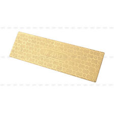 Sharpen Stone Whetstone 400/1000# 2Sides Diamond Plate Ti Titanize Knife Cutlery
