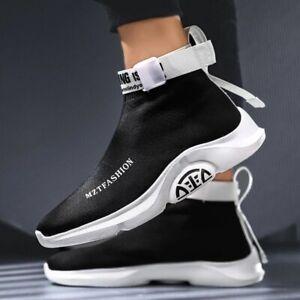 ### 2 Top Hip Hop Socks Sneaker Men Shoes Breathable Lightweight Walking shoe
