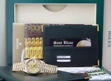 ROLEX-Oro 18kt señoras Datejust presidente Champán Diamante 69178-Sant Blanc