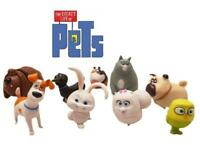 The Secret Life of Pets 8 Figure Set Cake Toppers Decoration Gidget Snowball 14