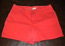 "UC! Women's ""SONOMA"" Modern Red short Size 10 cotton/spandex"