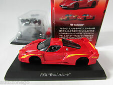 KYOSHO 1/64 MINICAR COLLECTION KIT 11 FERRARI FXX EVOLUZIONE YELLOW/RED JAPAN