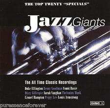"V/A - Jazz Giants Vol 1: The Top Twenty ""Specials"" (UK 20 Tk CD Album)"