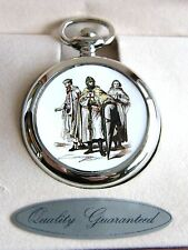 The Knights Templar Crusaders Masonic Gift Badge Pocket Watch Chain Keyring