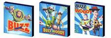 Toy story buzz et woody-toile art blocs/wall art plaques/photos