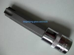 """Tamper proof T70 Star Bit 1/2"""" Dr 105mm Torx Socket bit"""