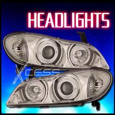 For 00-04 Infiniti I-30  I35 Halo Projector Chrome Clear Headlight