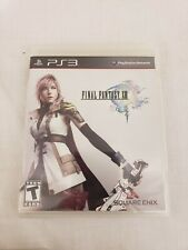 Final Fantasy XIII PS3 Game Final Fantasy 13 ( Sony PlayStation 3 ) w/ Manual